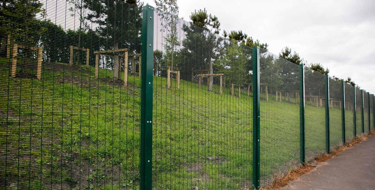 Mesh Security Fencing: SecureGuard SR1