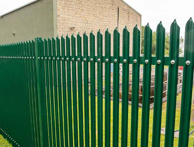 Palisade Security Fencing: StronGuard™ SR2