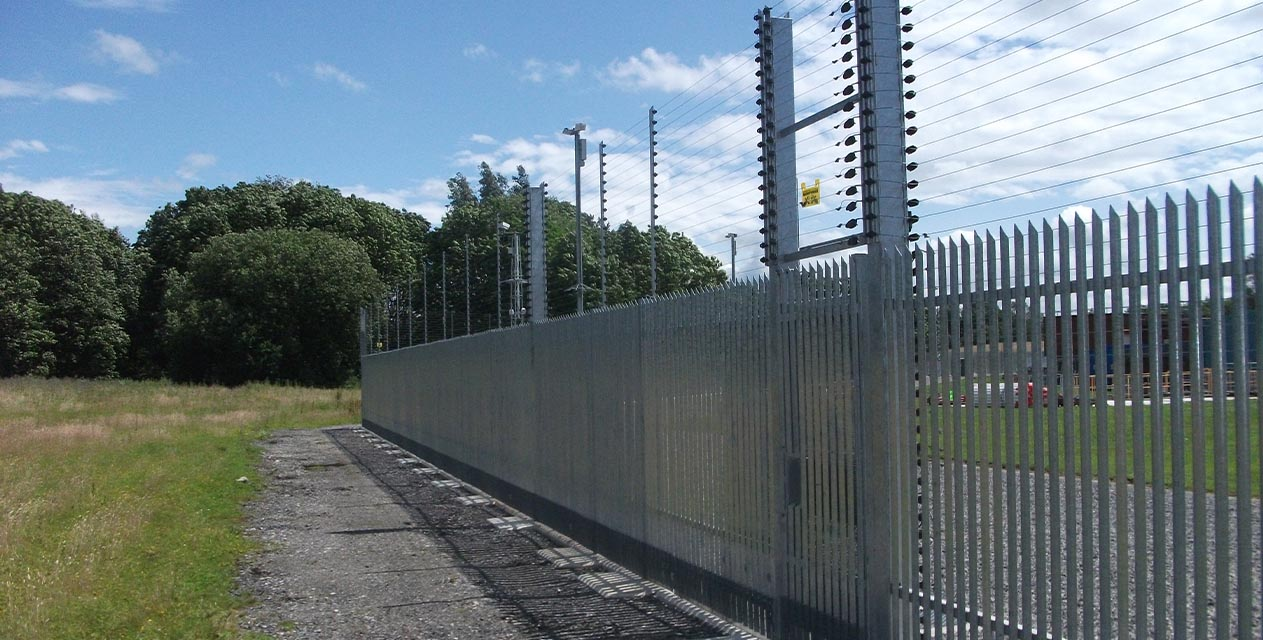 Palisade Security Fencing: Stronguard™