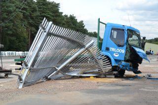 Preventing Road Vehicle Incursions With High Security Fencing