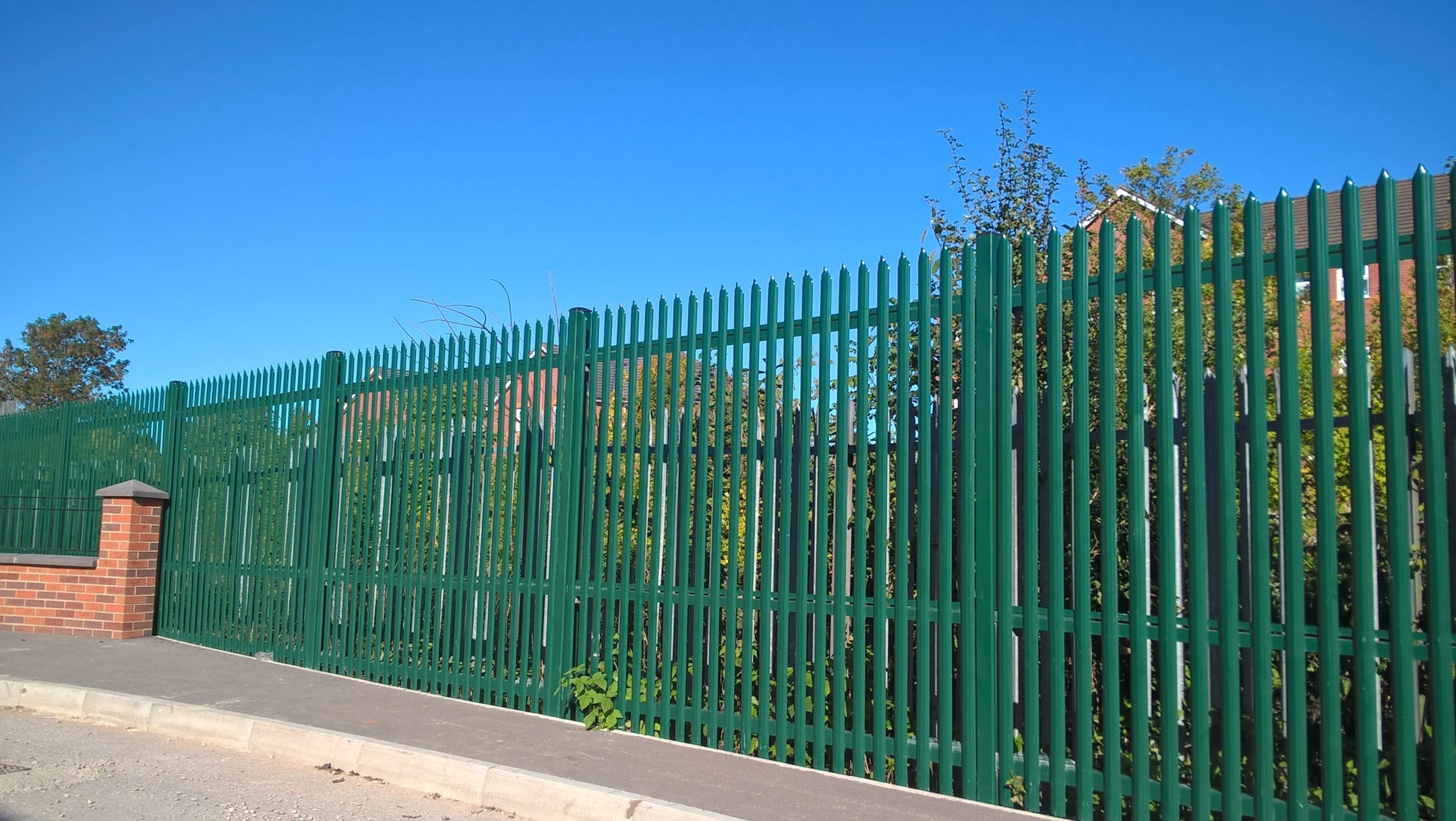 Specifying Security Fencing For Water Treatment Plants